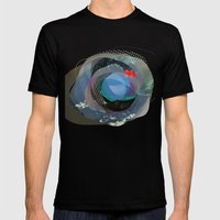 the abstract dream 13 Mens Fitted Tee Black SMALL