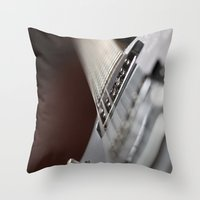 Gretsch Throw Pillow