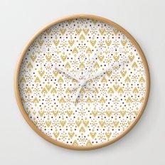 Geometric Diamond repeating Wall Clock