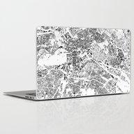 Berlin Map Schwarzplan O… Laptop & iPad Skin