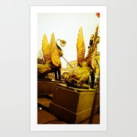 The Gilded Gold. Art Print