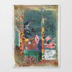 Secret Identity Canvas Print