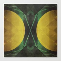 Electro-Magnetic Restraint Canvas Print