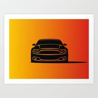 Muscle Car Art Print