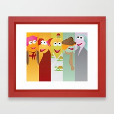 Fraggle Rock: We Are Harmony Framed Art Print