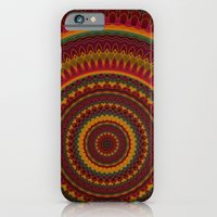 iPhone Cases featuring Mandala 101 by Patterns of Life