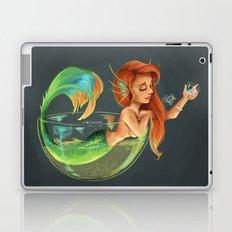 Mermaid Bubble Laptop & iPad Skin