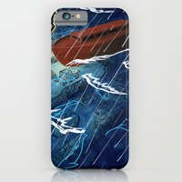iPhone & iPod Case featuring First Judgement (Noah's Ark)  by Justin Perkins