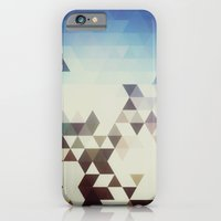 iPhone & iPod Case featuring Triangle Space by CLFFW
