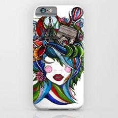 Paris girl iPhone 6s Slim Case