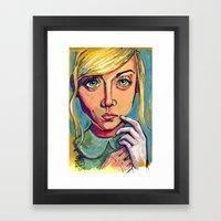 Alice 2 Framed Art Print