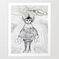 Batmilk Art Print