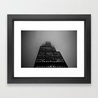 Long Roads Framed Art Print