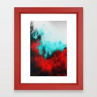 Painted Clouds III.1 Framed Art Print