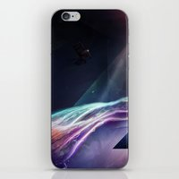 Room Of Abstract Imagina… iPhone & iPod Skin