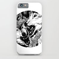 iPhone & iPod Case featuring wolf by Chuchuligoff