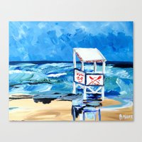 Ocean City Lifeguard Stand Canvas Print
