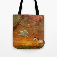 Animals in the Forest Tote Bag