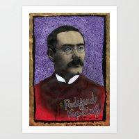 Rudyard Kipling Art Print