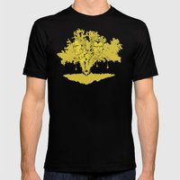 True Detective Mens Fitted Tee Black SMALL