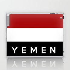 yemen flag Laptop & iPad Skin