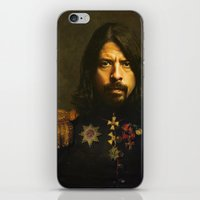 Dave Grohl - Replaceface iPhone & iPod Skin