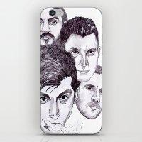 Fireside 'Arctic Monkeys' iPhone & iPod Skin