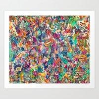 BrazenblazenOh Art Print