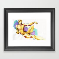 Creacion Framed Art Print