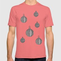 Christmas Mens Fitted Tee Pomegranate SMALL