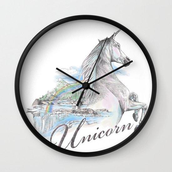 Unicorn classic Wall Clock