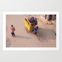 India New Delhi Paharganj 5557 Art Print