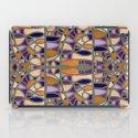 Gaudy Gaudi orange & purple iPad Case