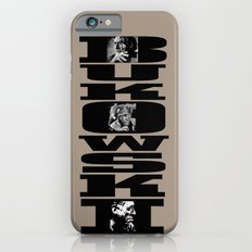 BUKOWSKI - 3 Portraits  iPhone 6 Slim Case