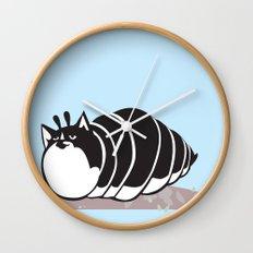 Kittypillar Wall Clock