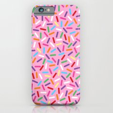 Pink Donut with Sprinkles iPhone 6s Slim Case