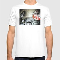 Umbrellas  Mens Fitted Tee White SMALL