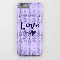 iPhone Cases featuring Love by gretzky