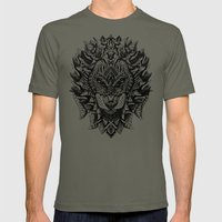 King Of The Jungle Mens Fitted Tee Lieutenant SMALL