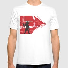 a piratical diversion Mens Fitted Tee SMALL White