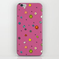 Pink Pop Flower Spot iPhone & iPod Skin