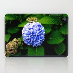 Blue Flower (Edited) iPad Case