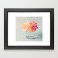 Roses for your soul Framed Art Print