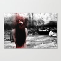 dolls factory Canvas Print