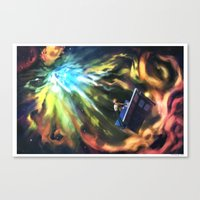 Man on the Edge of Forever Canvas Print