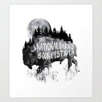 Our Best Idea Art Print