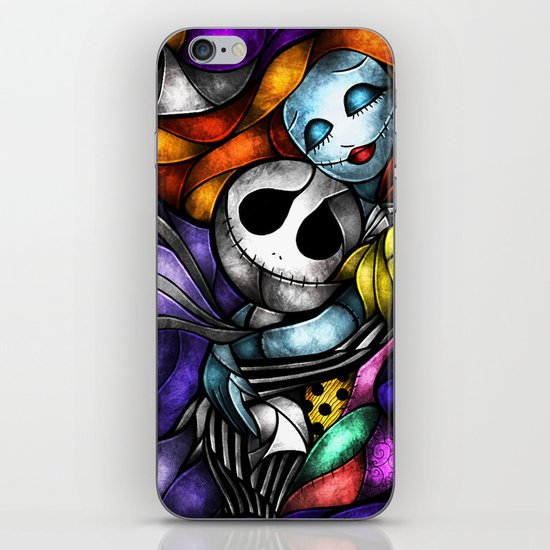 Love at its darkest iPhone & iPod Skin