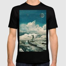 The explorer Mens Fitted Tee Black SMALL