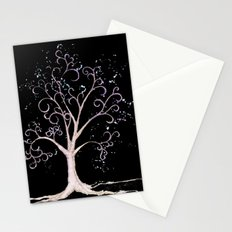 Dark elven tree Stationery Cards