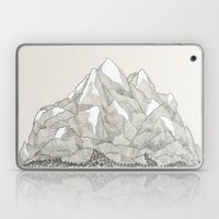 The Mountains And The Wo… Laptop & iPad Skin